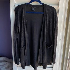 Calvin Klein black heather cardigan